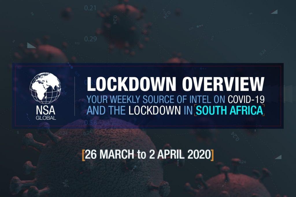 COVID-19 - South Africa Lockdown Week 1